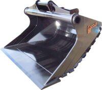 Planerskopa - fäste S30 S40 S45 S50 S60 S70 S80 S2 S3 volym 500 liter-2000 liter med slitribbor