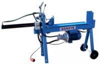 Vedklyv - eldriven tryckkraft 5.5 ton klyvlängd 70 cm vikt 100 kg elanslutning 3-fas