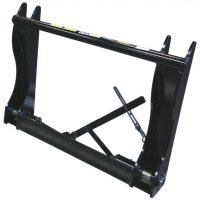 Adapter – Blank maskinsida Stora BM redskapssida mekanisk låsning