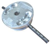 Trimmerhuvud med hydraulslang Erasure för röjsågar 40 cc och uppåt  levereras med 1 hydraulslang passar centrumhål 25 mm och 20 mm