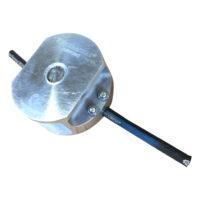 Trimmerhuvud med hydraulslang MiniErasure för trimmer och röjsågar 25 cc och uppåt  levereras med 1 hydraulslang passar centrumhål 25 mm och 20 mm