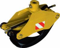 Timmergrip - MG 014 rotatoranslutning 50 mm griparea 014 m2 max lyftförmåga 700 kg vikt 52 kg