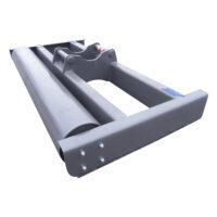 Avjämningsbalk - fäste S60 bredd 2500 mm rulldiameter 325 mm vikt 520 kg