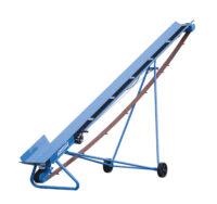 PW vedtransportör - eldriven 1-fas längd 5 m inkl. hjul och vinsch vikt 124 kg