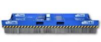 Stålborste Extra Large för hjullastare - fäste Stora BM inkl gaffelfäste bredd 3000 mm djup 950 mm