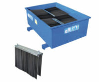 Utbytesborst till Stålborste Extra Large - består av stålborst och stålborsthållare enkel att montera 288 kg