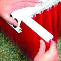 Utbytesborst till Vee-Broom sopborste - bredd 4800 mm 13 rader borst vikt 130 kg
