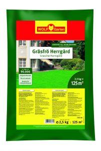 Gräsfrö Herrgård  - 2.5 kg för 125 kvm anpassat för nordiskt klimat