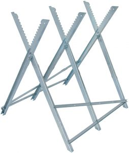 Sågbock - ihopfällbar halksäker kapacitet 150 kg höjd 790 mm bredd 810 mm
