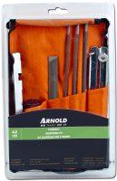 Slip-kit för motorsågskedjor - fildiameter 4 mm 4.8 mm 5.5 mm kortfil djupmått filgrepp filmått