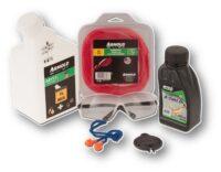 Start-kit för bensintrimmer & lätta röjsågar - inkluderar trimmertråd olja bränsle skyddsglasögon m.m