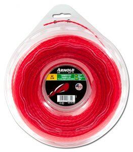 Trimmertråd Redline Pro Twisted - 2.0 mm tjock 98 meter lång röd