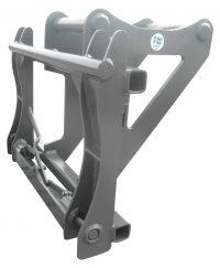 Adapter - S70 maskinsida Stora BM redskapssida mekanisk låsning vikt 270 kg