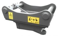 Adapter - S60 maskinsida S70 redskapssida mekanisk låsning vikt 265 kg