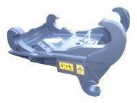 Adapter - SMP 105 maskinsida b27-S2 redskapssida mekanisk låsning vikt 540 kg