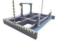 Avjämningsbalk - med skrapa fäste Stora BM bredd 3000 mm rulldiameter 325 mm vikt 1400 kg