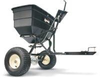 Gödnings- & saltspridare - kapacitet 80 kg spridareal 3700 mm passar till trädgårdstraktorer & ATV
