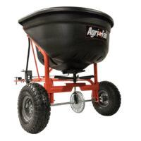 Gödnings- & saltspridare - kapacitet 50 kg spridareal 3000 mm - 4000 mm passar till trädgårdstraktorer & ATV