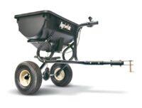 Gödnings- & saltspridare - kapacitet 39 kg spridareal upp till 3000 mm passar till samtliga trädgårdstraktorer