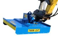 Buskröjare FH100 för grävmaskin - fäste S60 klippbredd 1000 mm klipper med knivar