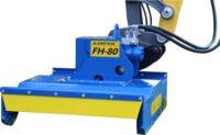 Buskröjare FH80 för grävmaskin - fäste S60 klippbredd 800 mm klipper med knivar