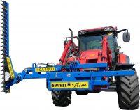Häcksax för traktor - fäste Euro klippbredd 1800 mm klipper upp till 40 mm tjocka grenar utskjutbart armsystem