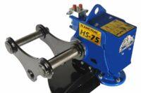 Röjsåg HS75 för grävmaskin - fäste S60 klingdiameter 750 mm klarar upp till 250 mm tjocka grenar
