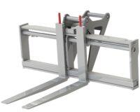 Gaffelställ - mekaniskt fäste S60 kapacitet 2500 kg rambredd 1000 mm gaffellängd 1200 mm