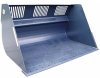 Lättmaterialskopa – fäste Stor-Stora BM volym 25 000 l bredd 4000 mm 4100 kg med sparskär