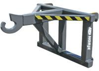 Rangerkrok – fäste Stora BM kapacitet 15 000 kg fast krok vikt 140 kg