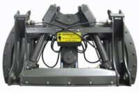 Redskapstilt 25° - adapter Stora BM (maskinsida) Stora BM (redskapssida) för maskinvikt 12-14 ton