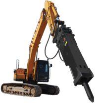 Hydraulhammare XE-7000 - fäste SMP 155 för maskinvikt 65-100 ton