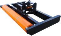 Avjämningsbalk - fäste S70 bredd 3000 mm rulldiameter 305 mm vikt 750 kg