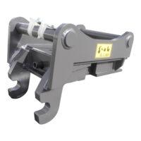 Adapter - S70 maskinsida S2 redskapssida mekanisk låsning vikt 340 kg