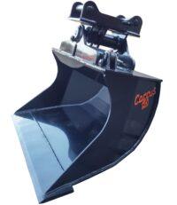 Planeringsskopa - hydraulisk fäste S1-B20 volym 900 liter bredd 1800 mm