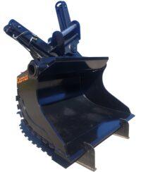 Planeringsskopa - hydraulisk fäste SMP 105 volym 2000 liter bredd 2200 mm