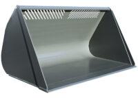 Lättmaterialskopa - fäste Stora BM volym 7000 l bredd 3000 mm vikt 1750 kg
