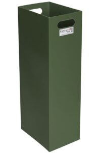 Säckkanal för ved - 60-80 liter lätthanterlig packkanal i plast