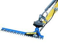 Häcksax för grävmaskin - fäste S60 klippbredd 1800 mm klipper upp till 40 mm tjocka grenar