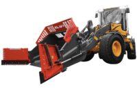 Multiskopa D-Edition - fäste Stora BM volym 7000 liter totalbredd 5800 mm vikt 2000 kg