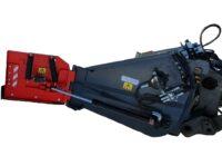 Multiskopa D-Edition - fäste Stora BM volym 2100 liter totalbredd 4400 mm vikt 750 kg