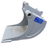 VA-skopa - fäste S3-B30 volym 1000 liter bredd 1000 mm