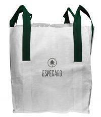 Big Bag Stensäck - 1000 liter antal 10 st UV-skyddad lyftöglor upptill