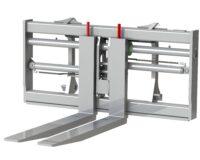 Gaffelställ - hydrauliskt fäste Stora BM kapacitet 10 000 kg rambredd 1500 mm gaffellängd 1500 mm