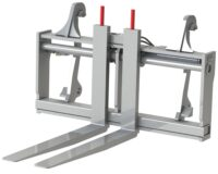 Gaffelställ - hydrauliskt fäste Stora BM kapacitet 4000 kg rambredd 2000 mm gaffellängd 1600 mm