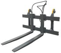 Gaffellställ - hydrauliskt fäste L30 kapacitet 4000 kg rambredd 1500 mm gaffellängd 1600 mm