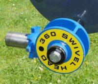 360 Swivel Head - vinkeladapter till Häcksax HC150 och HC180 för grävmaskin mekanisk mellandel
