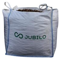 Storsäck för jord & grus - 1000 liter antal 100 st UV-skyddad 4 lyftöglor upptill
